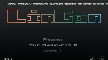 The Darkness 2: Трейнер/Trainer (+1: Immortality/Бессмертие) [1.0: STEAM - US VERSION] {LinGon}