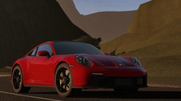 "City Car Driving ""2022 Porsche 911 GT3 (922) (v1.5.8 - 1.5.9.2)"""