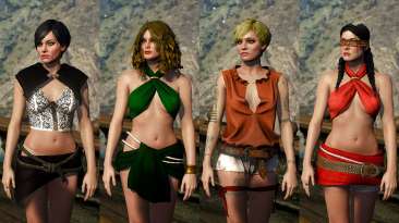 "Witcher 3 ""The Witcher's Secret - Коллекция сексуальных нарядов"""