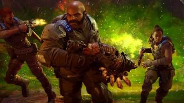 Microsoft, возможно, тизерит сюжетное расширение для Gears 5 с Маком, Киганом и Лани