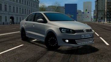 "City Car Driving ""Volkswagen Polo Sedan 1.6 AT Oper Style (v1.5.9 - 1.5.9.2)"""