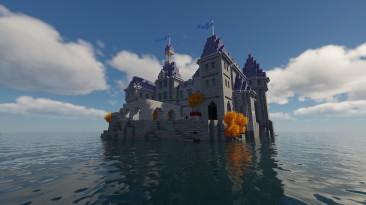 Игрок перенёс карту Шато-Гийяр из Overwatch в Minecraft