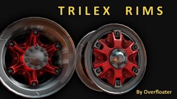 "Euro Truck Simulator 2 ""Trilex rims"" (1.34.x)"