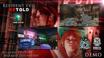 Фанат создал мод Resident Evil Retold - переосмысление RE2 на движке Tomb Raider: The Last Revelation