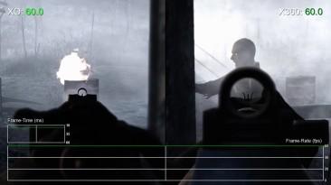 Call of Duty: World at War - Xbox One vs Xbox 360 Частота кадров (DigitalFoundry)