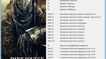 Dark Souls 2: Трейнер/Trainer (+21) [1.04 regulation 1.08] {Alex_Protos_Merser}
