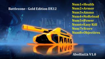 Battlezone - Gold Edition: Трейнер/Trainer (+8) [1.0] {Abolfazl.k}