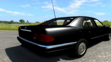 "BeamNG.drive ""Mercedes E 420 W124"""