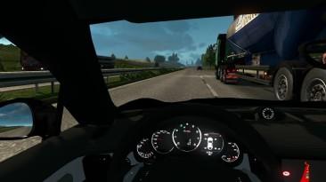 ETS 2 Игра про грузовики, говорили они...Porsche Panamera Turbo S