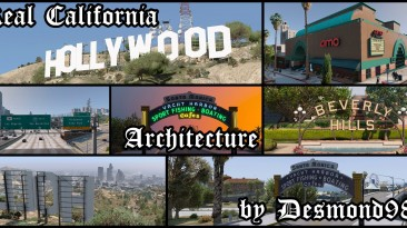 """Grand Theft Auto 5 """"Real California Architecture 0.4.3"""""""