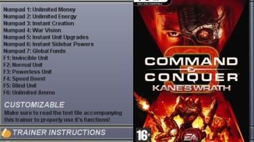 Command &Conquer 3: Kane's Wrath: Трейнер (+13) [1.01]