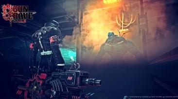 Хэллоуинский скриншот Gungrave G.O.R.E