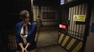 """Resident Evil 3 """"Пышная секси школьница Джилл"""""""