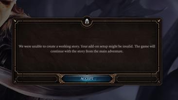 """Baldur's Gate 3 """"Мод удаляющий сообщения об ошибках"""""""