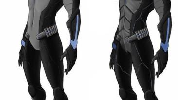 "Batman: Arkham City ""Nightwing concept-art skin mod"""