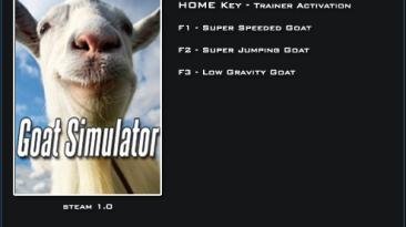 Goat Simulator 2014: Трейнер/Trainer (+3) [1.0] {LinGon}