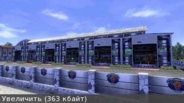 """ETS 2 """"Большой гараж Scania"""""""