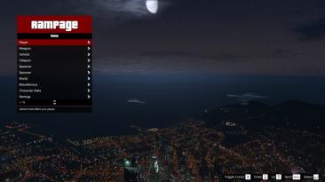 Grand Theft Auto 5: Чит-Мод/Cheat-Mode (Rampage Trainer 1.2.8)