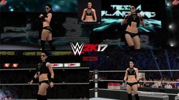 "WWE 2K17 ""Tessa Blanchard (Лицевая анимация) WWE 2K19 Порт мод"""