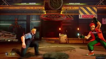Street Fighter V - Cody Arcade Mode - на высоком уровне сложности