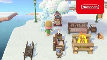 Nintendo рассказала, что нового добавилось в Animal Crossing: New Horizons в январе