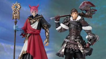 Square Enix представила две фигурки из Final Fantasy XIV