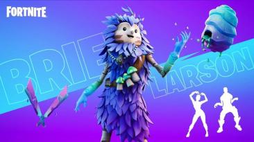 Epic Games объединила в Fortnite фиолетовый куст, грибы и Бри Ларсон