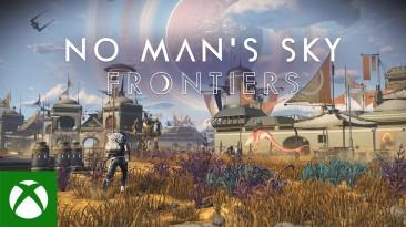 Дополнение Frontiers стало доступно для No Man's Sky