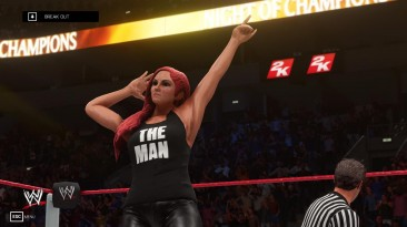 "WWE 2K19 ""Becky Lynch (Mayhem Man) Attire MOD"""