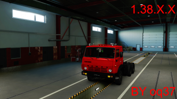 "Euro Truck Simulator 2 ""КАМАЗ 5410 HQ версия 2.0 r 0.1.2 (v1.37.x, 1.38.x)"""