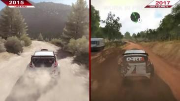 Сравнение | DiRT Rally (2015) по сравнению с DiRT 4 -EARLY- (2017)