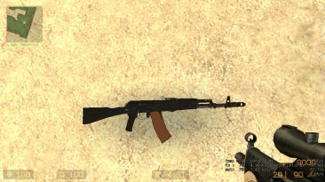 """Counter-Strike: Source """"AK-74M for CSS"""""""