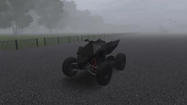 """City Car Driving """"Tesla Cyberquad (v1.5.9.2)"""""""