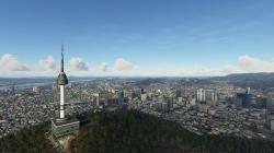 Microsoft Flight Simulator получает надстройку Сеула, столицы Южной Кореи