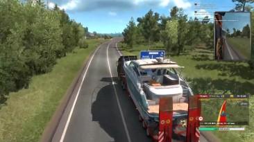 """Euro Truck Simulator 2 Multiplayer """"Карта ProMods"""""""