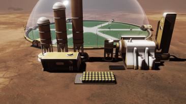 """Surviving Mars """"Атомная энергетика"""""""