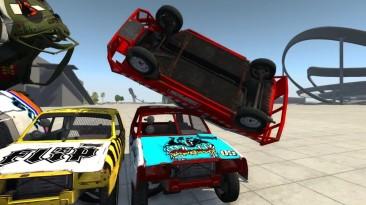Видео обзор мода дерби автомобиля Onyx Runner для игры BeamNG Drive.
