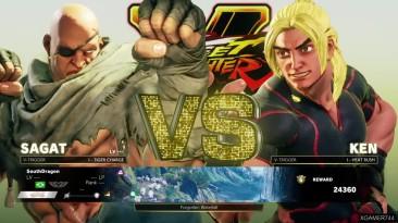 Street Fighter 5 - Прохождение за Сагата сюжетка
