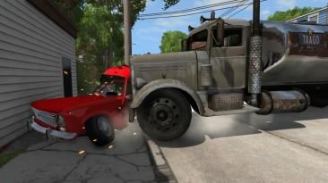 BeamNG.drive AvtoVAZ 2102 краш-тест