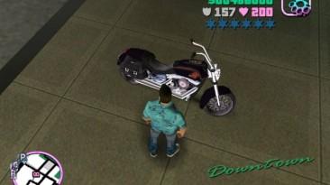 "Grand Theft Auto: Vice City ""Harley Fatboy"""