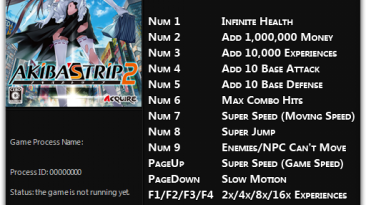 Akiba's Trip: Undead & Undressed: Трейнер/Trainer (+12) [1.0 - Update 3] {FLiNG}