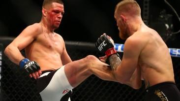 Лицо EA Sports UFC 2 Конор МакГрегор против Нейта Диаза 2 на UFC 202