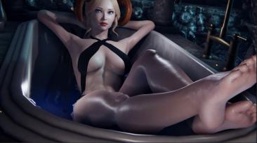 She Will Punish Them обновилась - позы для ванны, перчатки для нижнего белья, уменьшено размытие