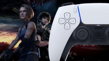 Resident Evil 3 заставляет контроллер DualSense на PS5 менять цвет