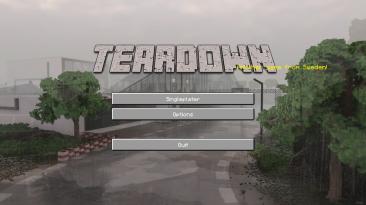 """Teardown """"Minecraft UI"""""""