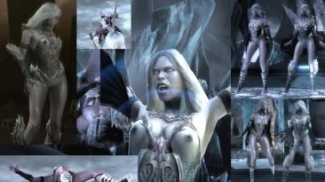"Injustice: Gods Among Us ""Nude Mod (Killer Frost и Hawkgirl)"""