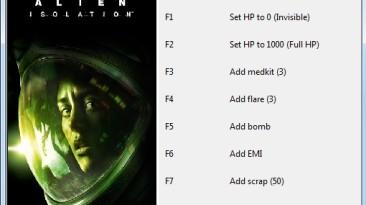 Alien: Isolation: Трейнер/Trainer (+8) [1.0] {Cryptor}
