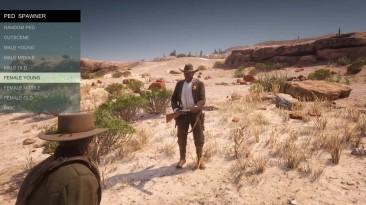 Первые моды Red Dead Redemption 2 - Scripthook и трейнер