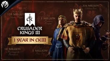 Paradox Interactive представила трейлер достижений к первой годовщине Crusader Kings 3