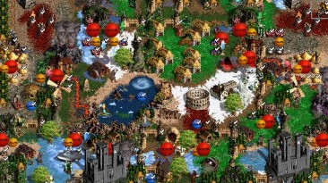 "Heroes of Might and Magic 3 ""Карта для мода MoP, Heroes of Might and Magic III: Master of Puppets v4.5"